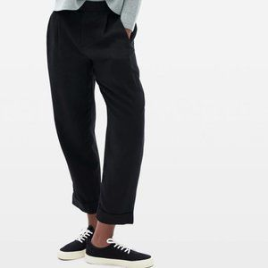 Everlane The Put-Together Pleat Pant Size 8 Black